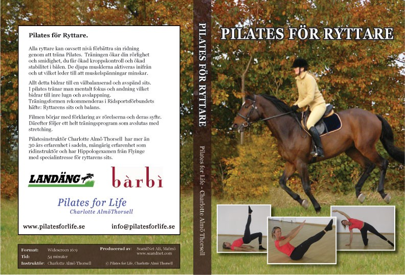 Beställ DVD Pilates för ryttare